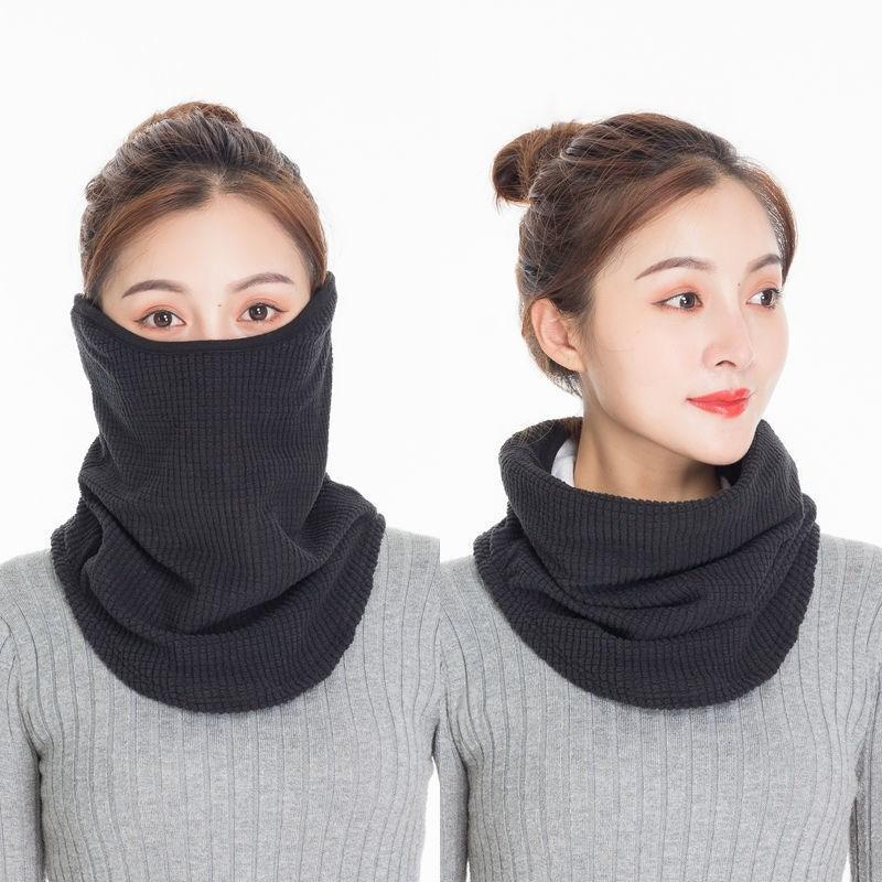 3 Warm 1 inverno maschera collo ghetta Ghetta donna in Bandana Ear Protezione Addensare per il ciclismo esterno Kimter-B239F Headwear Tube 2 R2