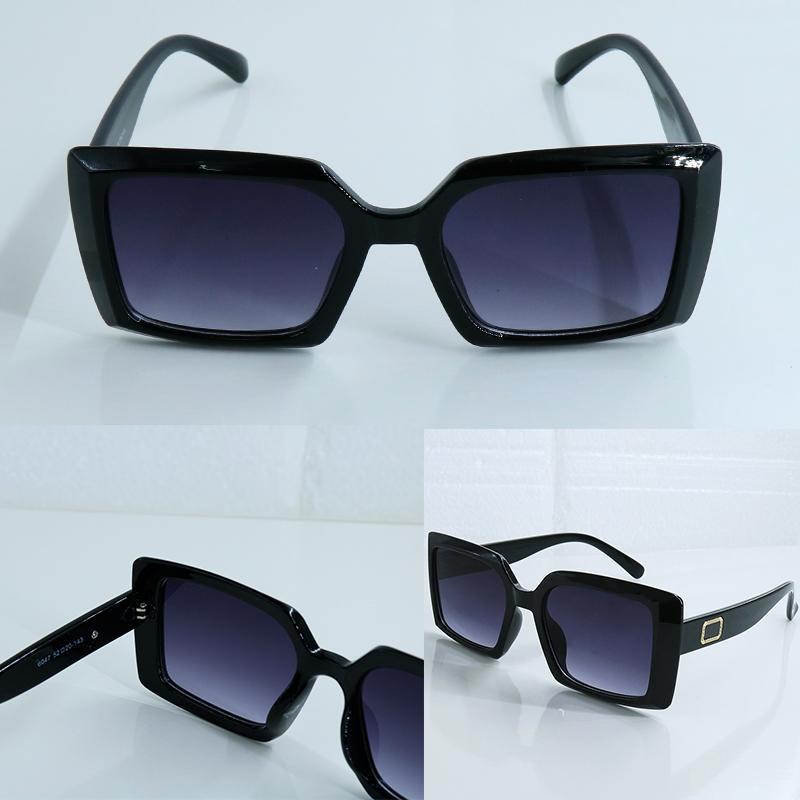 선글라스 Sunglass Eyeglass Eyeglasses 디자이너 스타일 남성용 안경 여성 UV400 보호 전체 프레임 스퀘어 6 색 이용 가능 Adumbral 6047 모델
