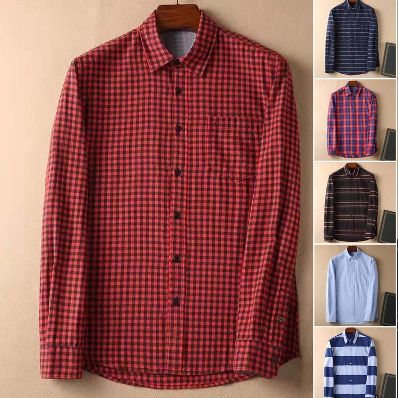 고품질 옴므 악어 남성 코튼 스트리트웨어 Camisa Masculina 긴 셔츠 패션 캐주얼 Hombre Chemises 비즈니스 남성
