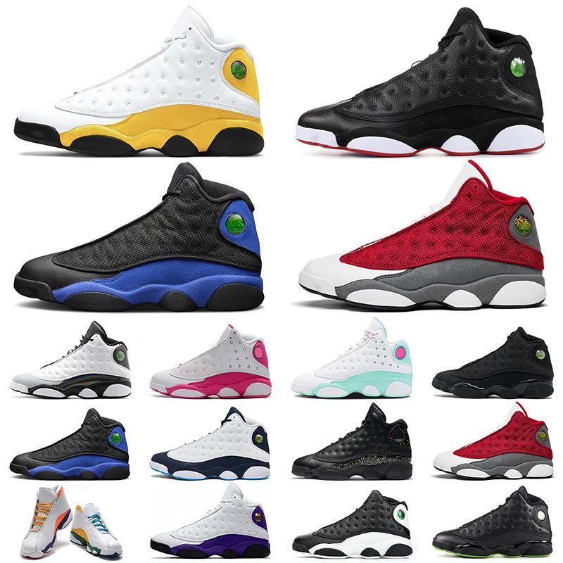 Retro Air Jordan 13 Zapatos de baloncesto 13s del Sol Hyper Royal Rojo Flint Dark Powder Blue Playground Mujeres para hombre zapatillas deportivas