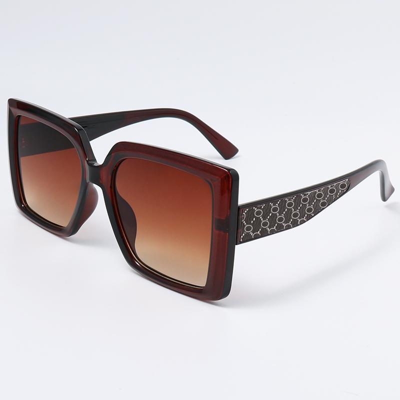 남자 선글라스 안경 사각형 프레임 진행 렌즈 고품질 선글라스 여름 스타일 여성 안경 UV400 보호 6020 모델
