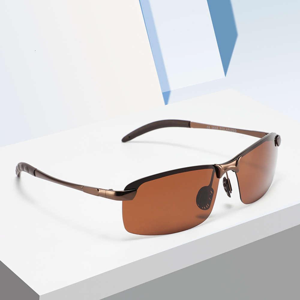 Parzin Photochromic Pollarized Sunglass para homens camaleão ao ar livre condução óculos de visão noturna de sol óculos de sol enorme