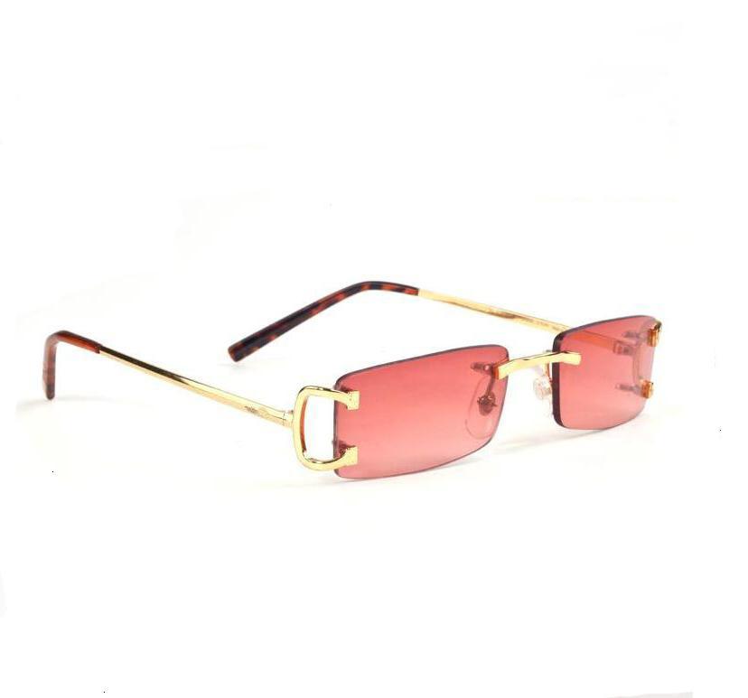 Paket Posta 2021 Erkekler ve Kadın Kart Sıcak Stil Butik Güneş Gözlüğü Popüler Logo Retro65D5