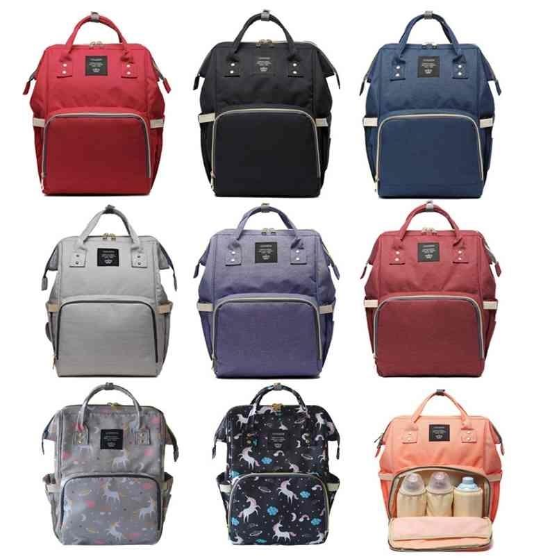 Baby Diaper Bag Unicorn Backpack Fashion Mummy Maternity Mother Brand Mom Backpack Nappy Changing Baby Bags for Mom 210923
