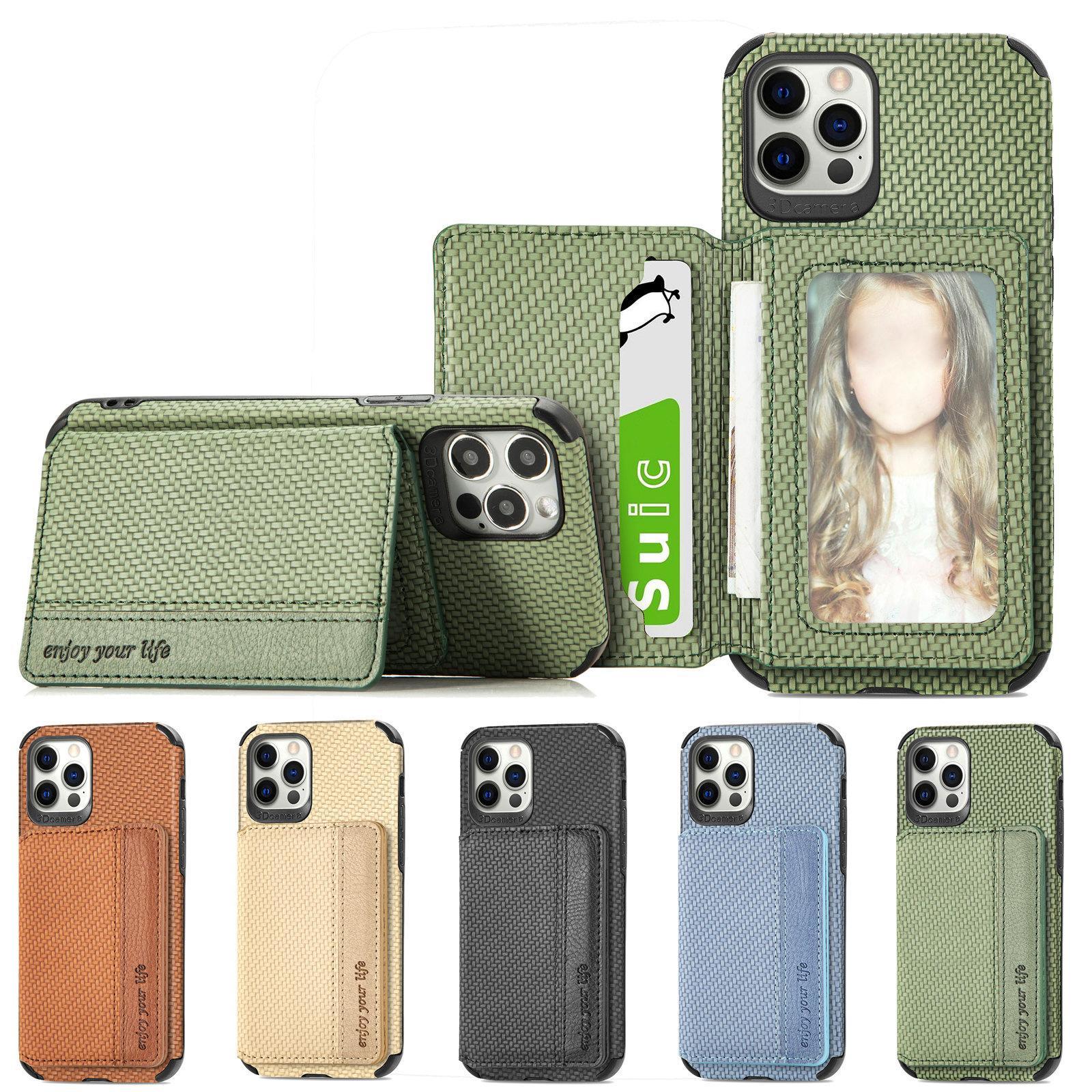 Gewebt Muster Brieftasche Schutzfälle für Samsung Galaxy A32 A42 A52 A72 A70 A02 Anmerkung 20 S20 Fe S21 Ultra S10 Multifunktionale Magnetkartentasche Schutztelefonabdeckung
