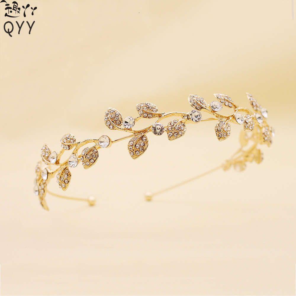 Heißer Verkauf Legierung Kreative Diamant Haarband Braut Kopfschmuck Haarschmuck Stirnband