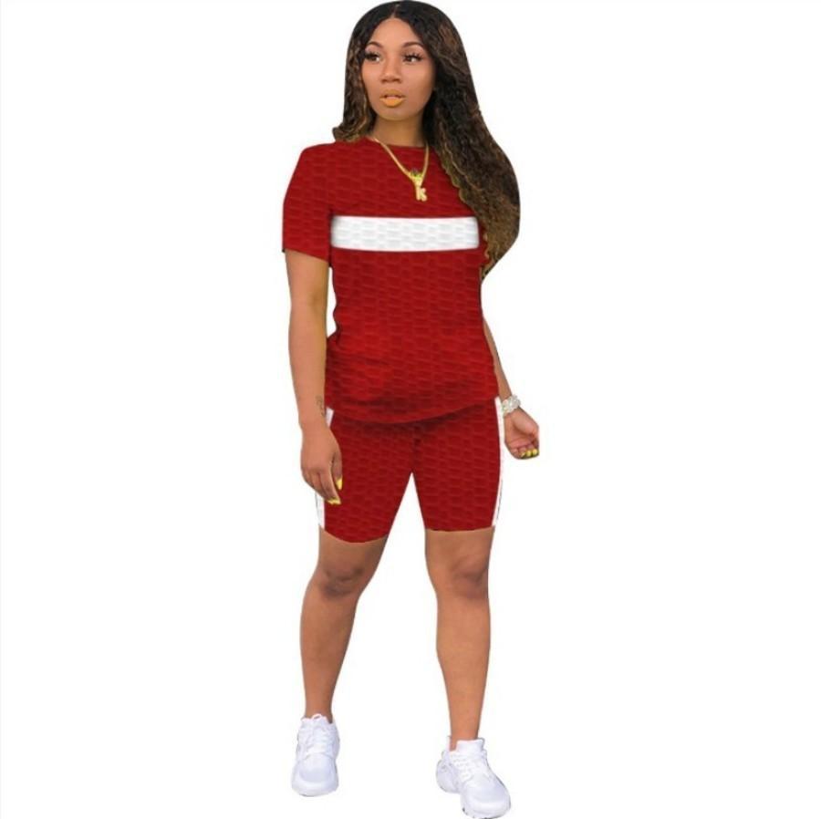 Piña Nueva tela de mujer deportes de ocio Pantalones de yoga Pantalones de color juego de dos piezas Juego de dos piezas Súper elástico 0p2m