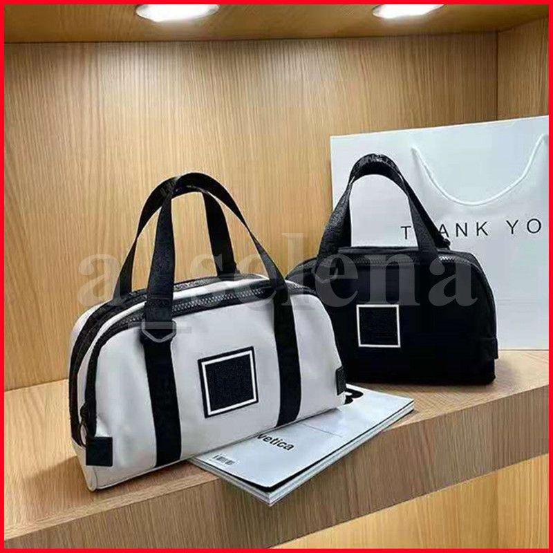 Trucco Cosmetico Grande Sacchetto di Capacità Sport Fitness Gadgets Yoga Sack Gym Pack per formazione Viaggio Sporttas Sportbag Borsoni Bianco nero