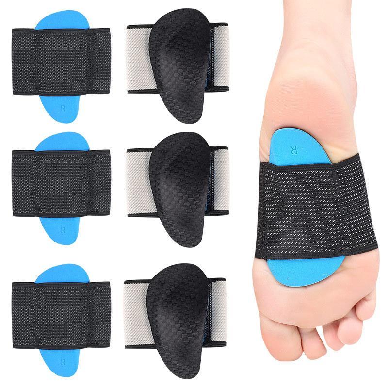 EVA Flat Feet Arch Support Solette ortopediche Pastiglie per scarpe Uomo Donna Piedi Valgus Varus Solette sportive Inserti di scarpe Accessori