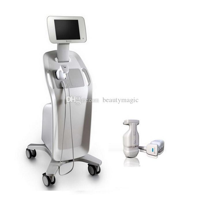 Máquina de emagrecimento liposônico Body Contouring Hifu Lipo Lipo Queima de Celulite Remoção Spa Use com cartuchos de 8mm 13mm