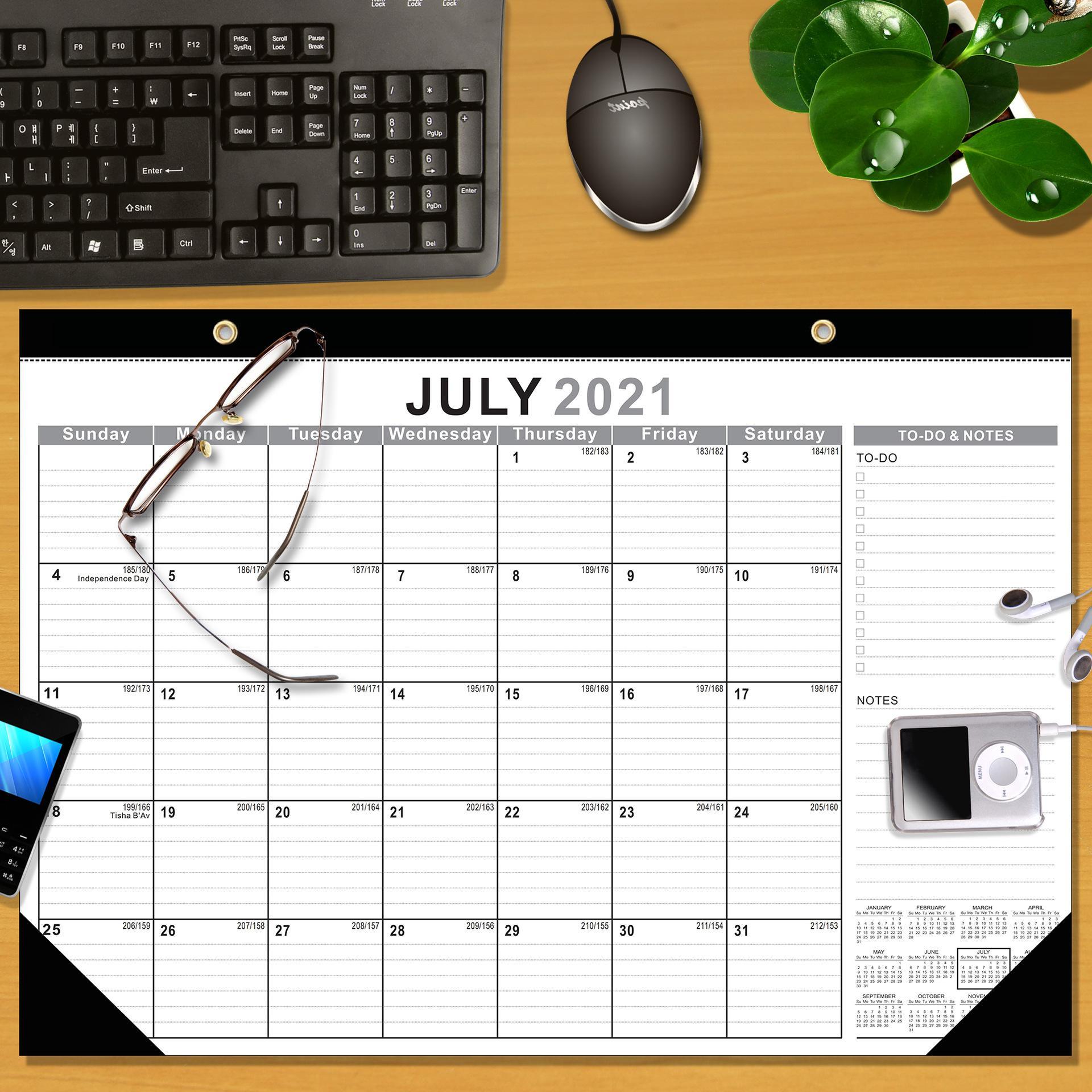 Calendar العد التنازلي ملاحظة سطح المكتب
