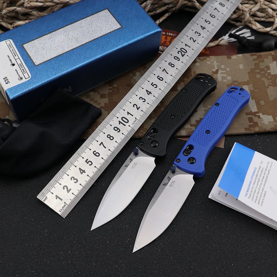 Kalite Kelebek BM 535 Katlanır Bıçak D2 Çelik Bıçak G10 Kolu OEM Cep EDC Araçları Açık Survival Kamp Avcılık Knifes Orijinal Kutu Bıçaklar