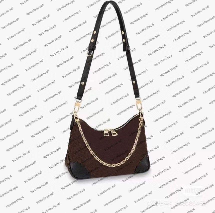 M45832 M57836 desinger المرأة حقيبة العجل الجلود قماش خمر crossbody مساء الكتف حقيبة يد مخلب محفظة حمل