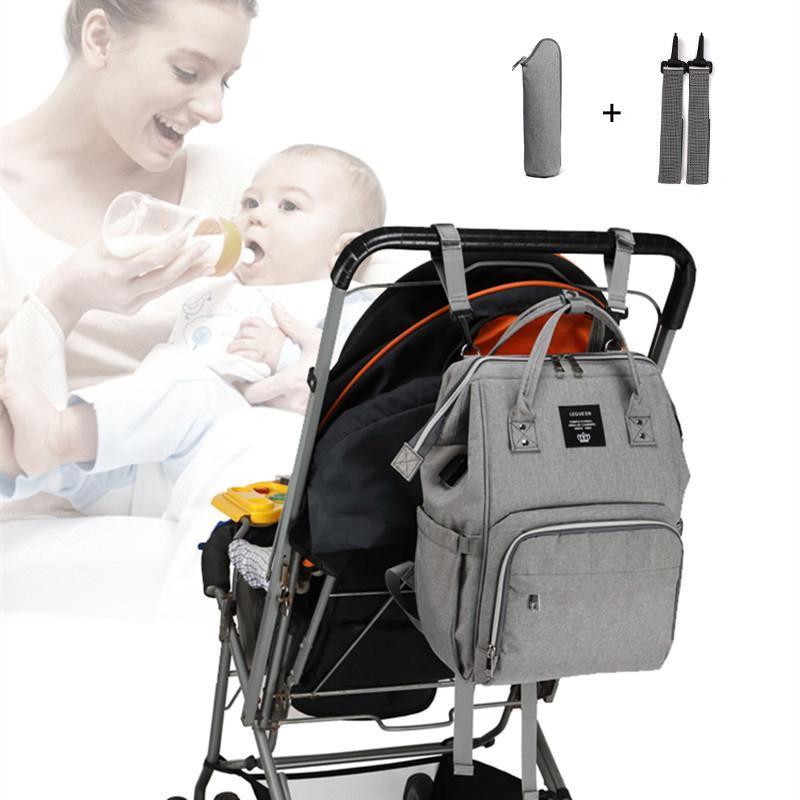 기저귀 배낭 가방 USB 기저귀 대용량 엄마 베이비 다기능 방수 야외 여행 가방 치료를위한