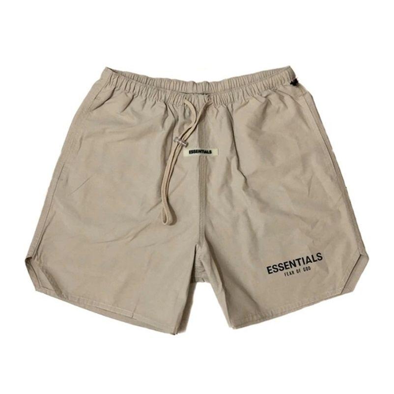 Туман экстенсы случайные мужчины спортивный 3M отражающие шорты буквы печати старинные уличные одеяла фитнес хип-хоп мужские короткие брюки брюки 210330