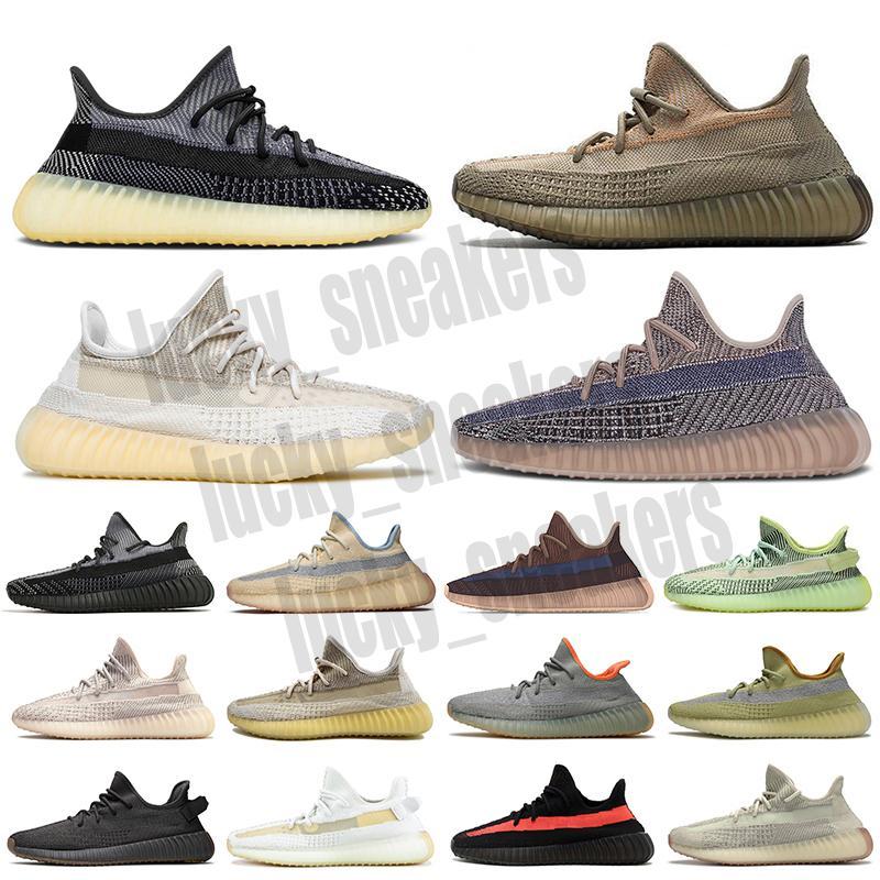 Adidas Yeezy 350 Boost V2 Toptan 2021 Rahat Ayakkabılar Erkek Kadın Eğitmenler Zebra Statik Siyah Bred Beyaz Susam Kremi Açık V2 Spor Tasarımcısı 36-46