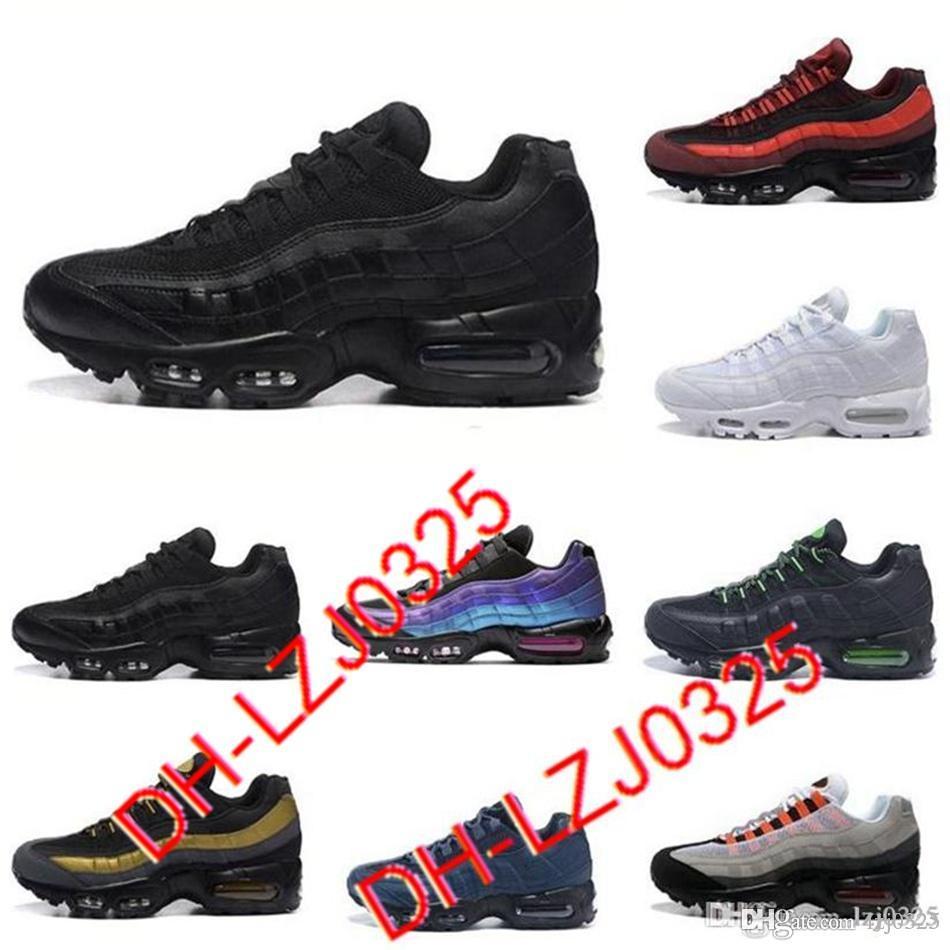 95 Zapatos deportivos triple negro neón láser fucsia rojo órbita criada aqua para hombre zapatillas deportivas zapatillas deportivas Todos los chaussures blancos Tamaño 40-45