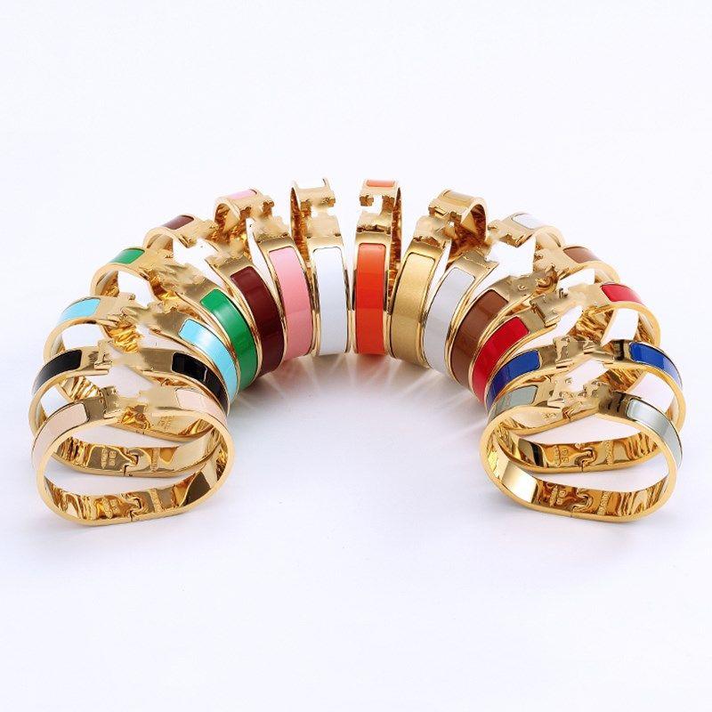 Cleef Bracelet herme Ladies rings Pendant Necklaces Screw Van Party Wedding Couple Gift Love Fashion Luxury Designer carti size #17 H02
