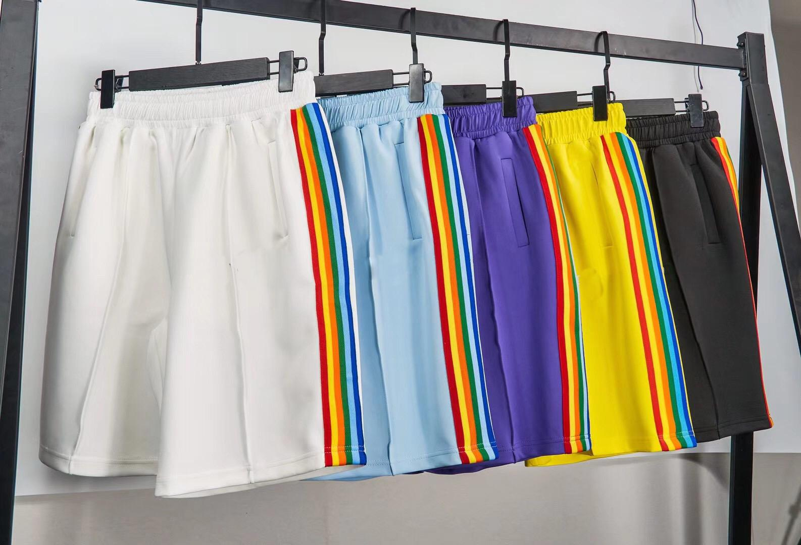 21SS GooD Qaulity 디자이너 반바지 높은 거리 짧은 바지 남성 여름 스포츠 스웨트 팬츠 힙합 Streetwear Mens 의류 크기 : S-XL PA4248