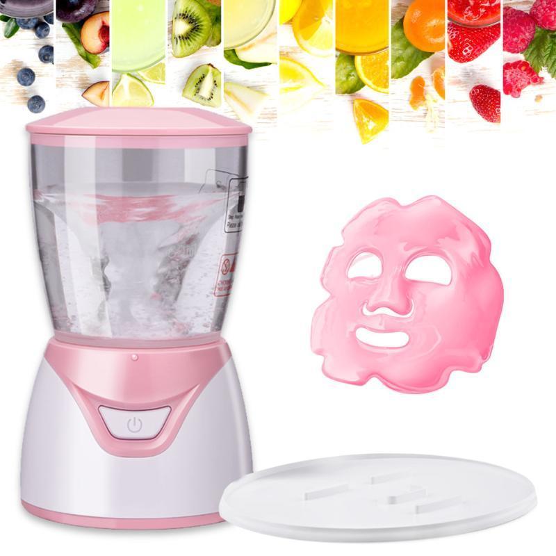 Pulizia Facciale Maschera Maker Macchina Trattamento Automatico Frutta naturale Verdura Naturale Collagene Home Uso Beauty Salon Spa cura ENG Voice