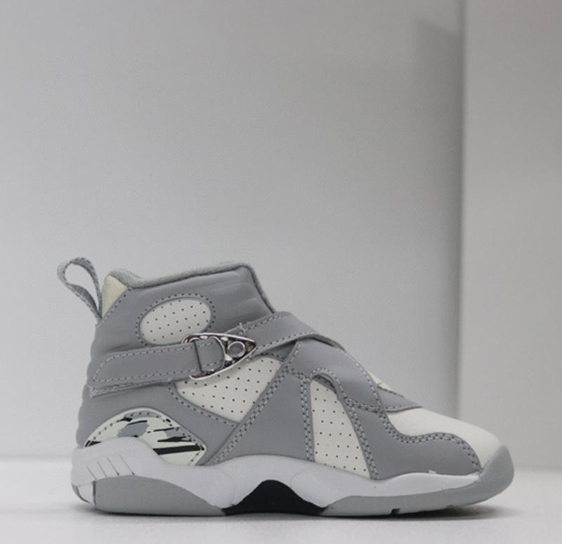 J8 crianças basquete viii sapatos menino menina juventude 8 sneaker sneaker tamanho 28-35