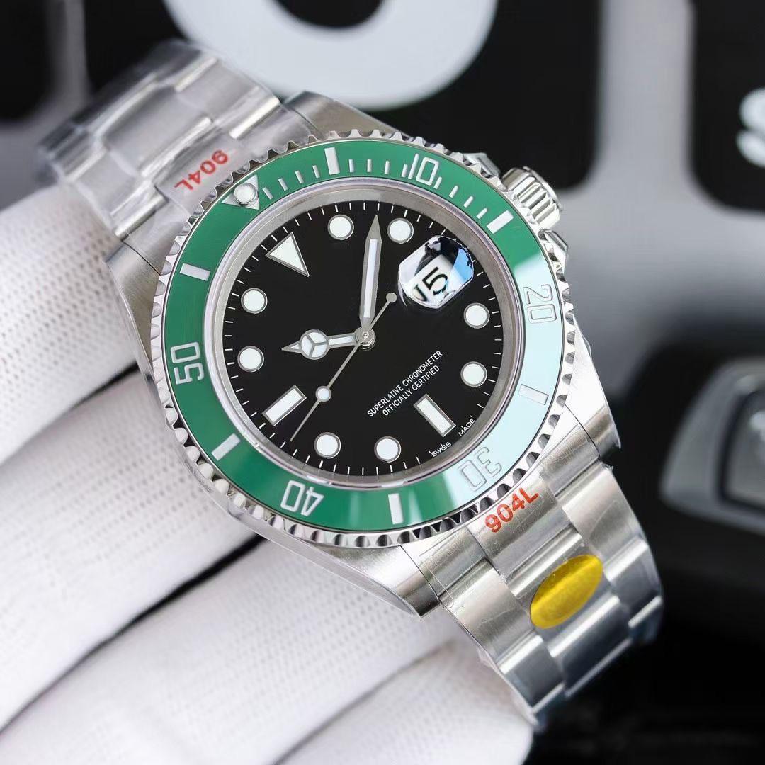 탑 n 공장 v11 에디션 남자 시계 사파이어 패션 ETA 3235 무브먼트 세라믹 베젤 116610 모델 904L 스테인레스 스틸 방수 손목 시계 OROGOLOGIO 디 LUSSO