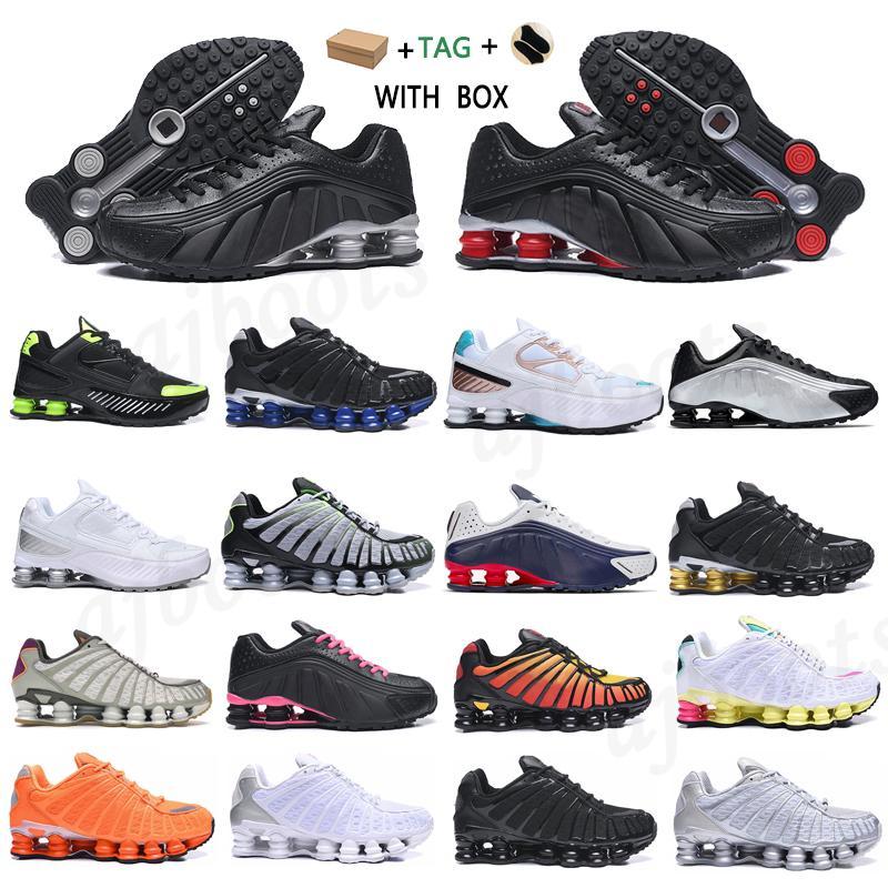 2021 Homens Mulheres Top Quality Outdoor OG R4 Treinadores Shox TL Casuais Sapatos Preto Piloto Metálico Entregar Azul Marinho Rosa Neymar Para Esportes # 951