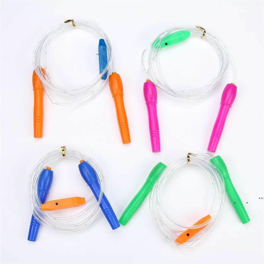 2.7m Cuerda Skipping Favor Favor LUMINA LUTINOUS LED Colorido Luminou Cuerdas intermitentes Equipo de aptitud Mercado Nocturno Juguetes para niños EWD6252