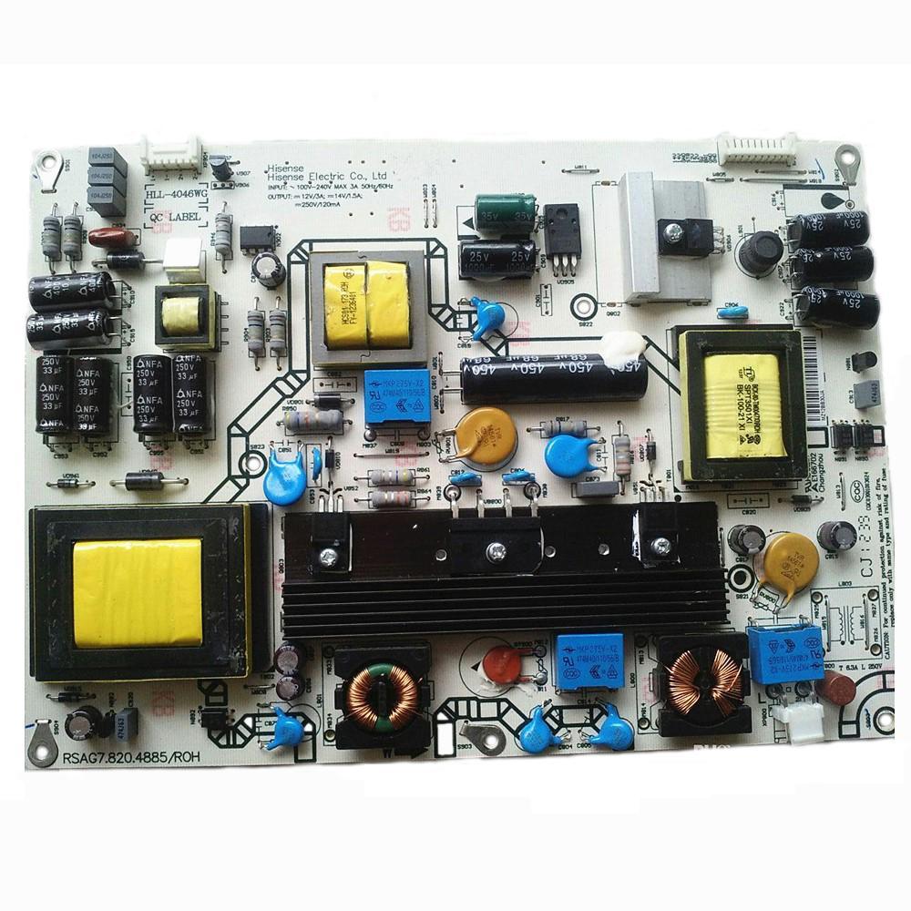 Оригинальный ЖК-монитор питания TV Board Board Блок PCB RSAG7.820.4885 / ROH для Hisense Led46k300