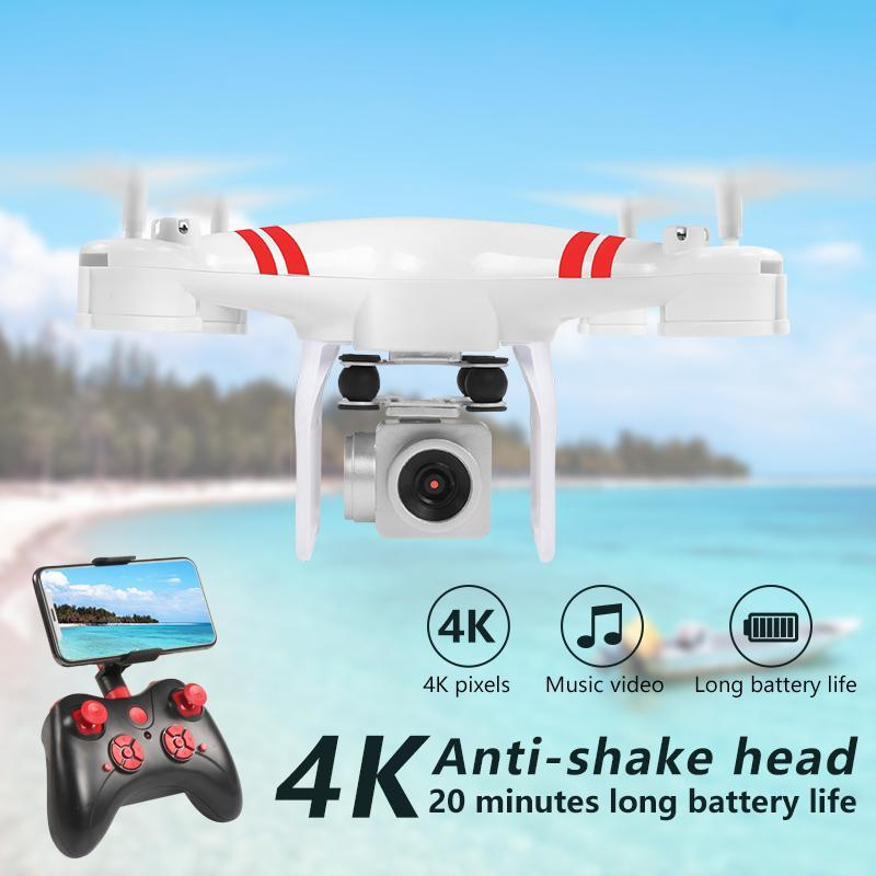 Drone 4k Camera HD Wifi Transmission Fpv Air Pressure Fixed Height Four-axis Aircraft Rc Helicopter With Drones