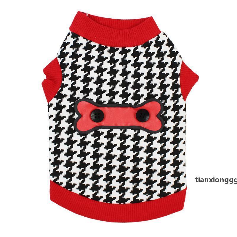 Primavera outono grade hoodies colete para animal de estimação med -small gatos e cães meninos e meninas colete vestuário outfits outfits e