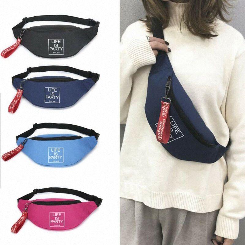 Erkek Bayan Fanny Paketi Su Geçirmez Telefon Cep Kılıfı Kemer Bel Bum Rahat Çanta Mektubu Baskılı Bel Çantaları Tekerlekli Sırt Çantaları Ucuz Çanta D9ED #