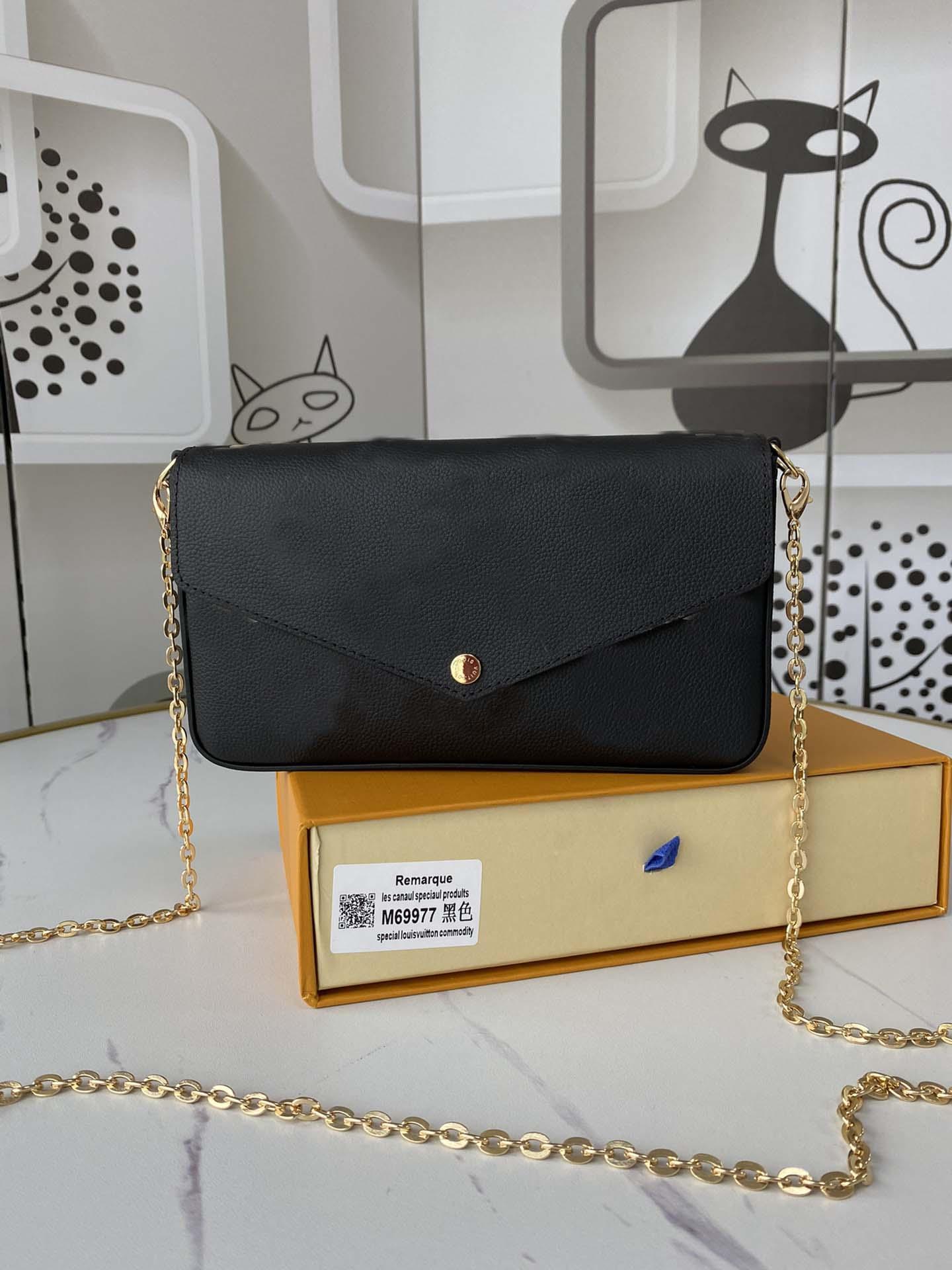 Hohe Qualität 2021 Modedesigner Luxus Handtaschen Geldbörsen Tasche Frauen Marke Klassische Art Echtes Leder Umhängetaschen