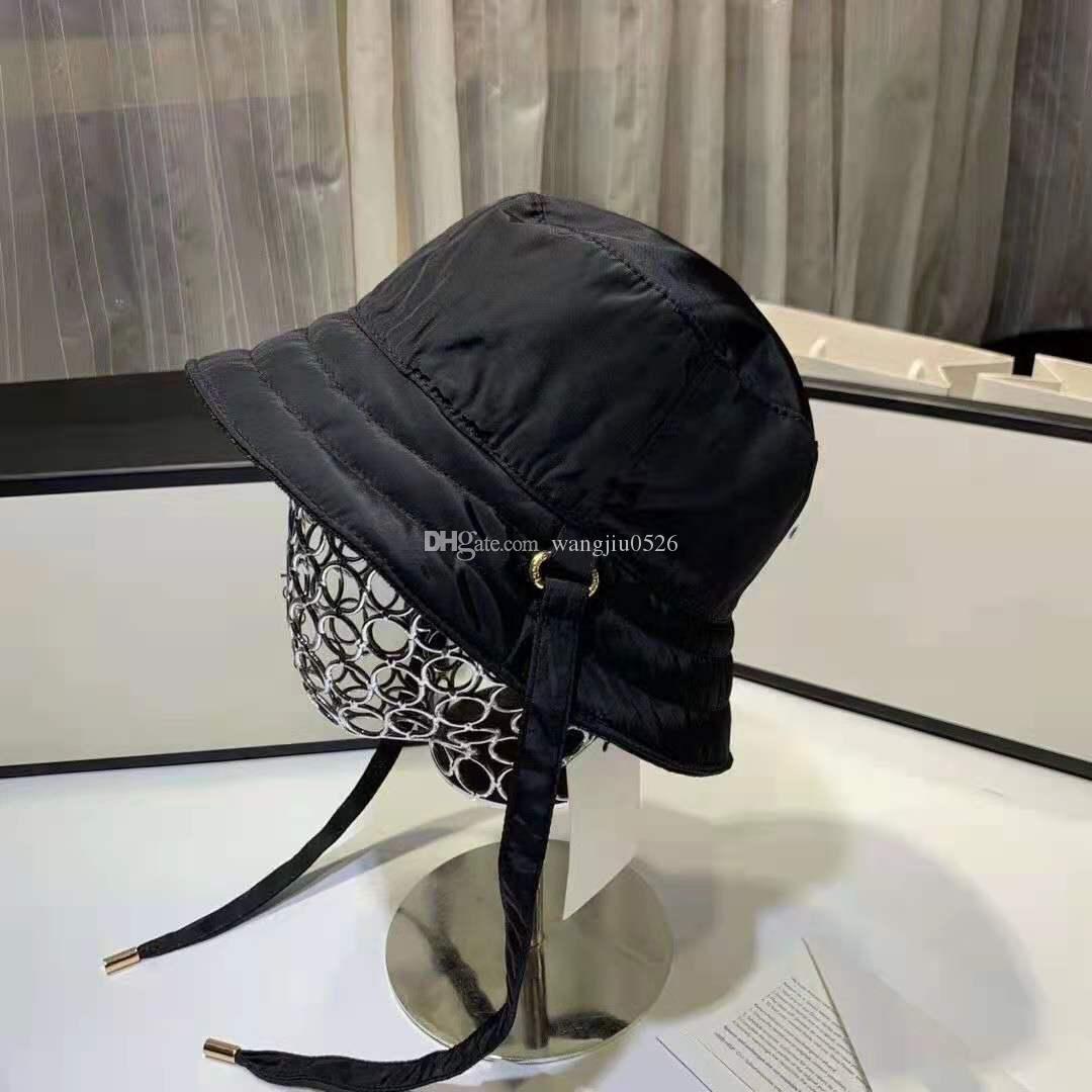 Bucket Hat Fashion Design Summer Classic Lettera completa per uomo e da donna Pescatore Pescatore Pescatore Traspirante Parasole con Eccellente Qualità 4 Colori Buon Nizza
