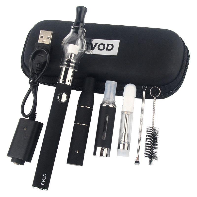 Super 4 em 1 kits Ervas secas Herbal MT3 Óleo cera vaporizador canetas Evod Electronic Cigarette Starter Kit CE3 O Pen Vape Cartuchos Vapor Cigarros