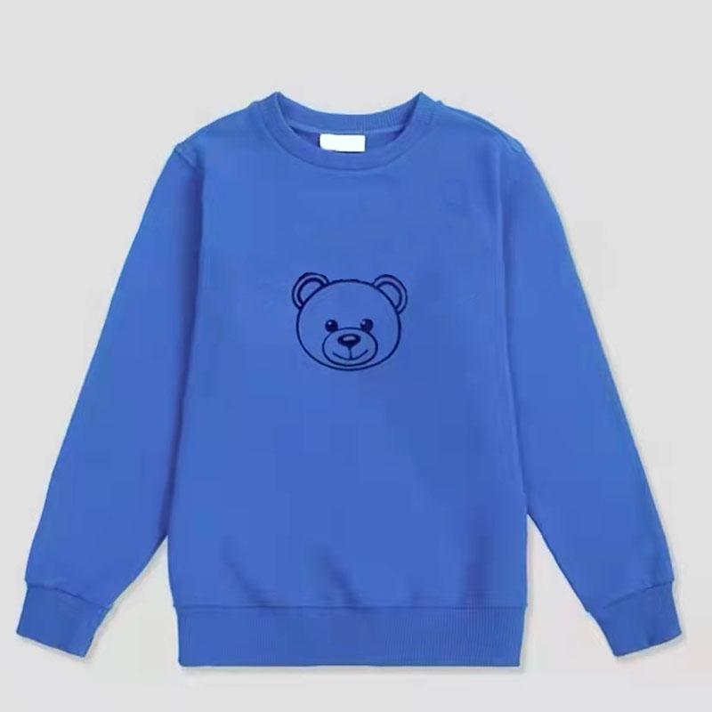 Çocuklar Hoodie Kazak T-Shirt Tees Üst Mektup Ayı Sevimli Rahat Tee Erkek Bebek Teen Giysileri Sonbahar Uzun Kollu Kız Multicolor Çocuk Giyim Kısa Kollu Tops