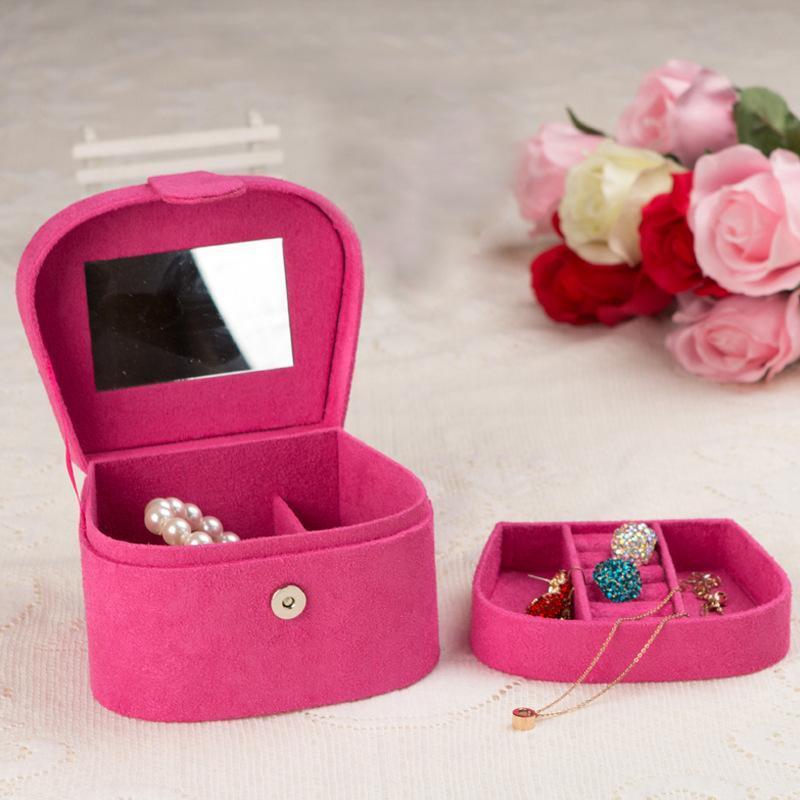 شل المخملية معكوسة حالة تخزين حالة المتأنق مجوهرات مربع حلقة قلادة عرض حامل النساء هدية 2021 الحقائب، أكياس
