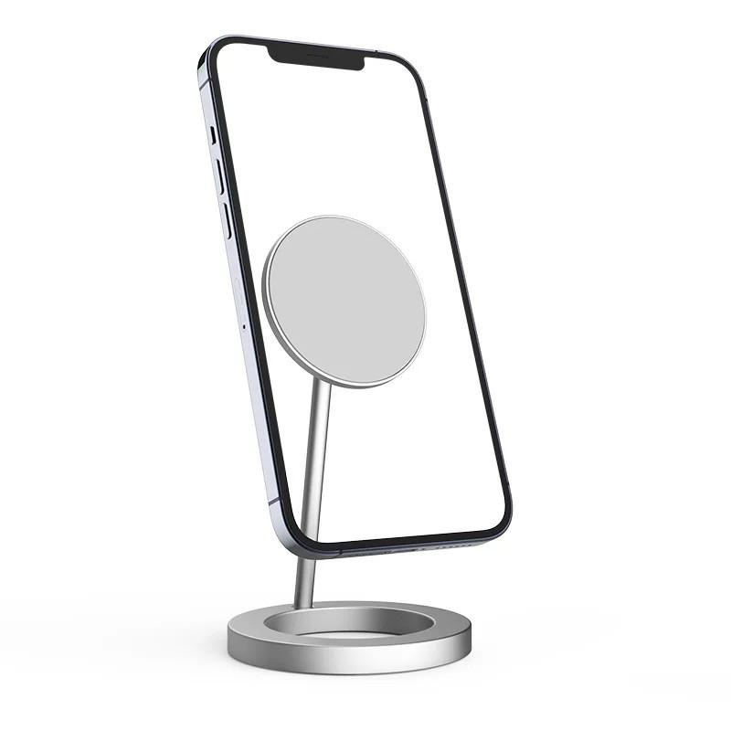 Magnetic Wireless Charger for iPhone 12 Pro Max IP12 Mini 15W Fast Charging Stand with Retail Box 20pcs/up