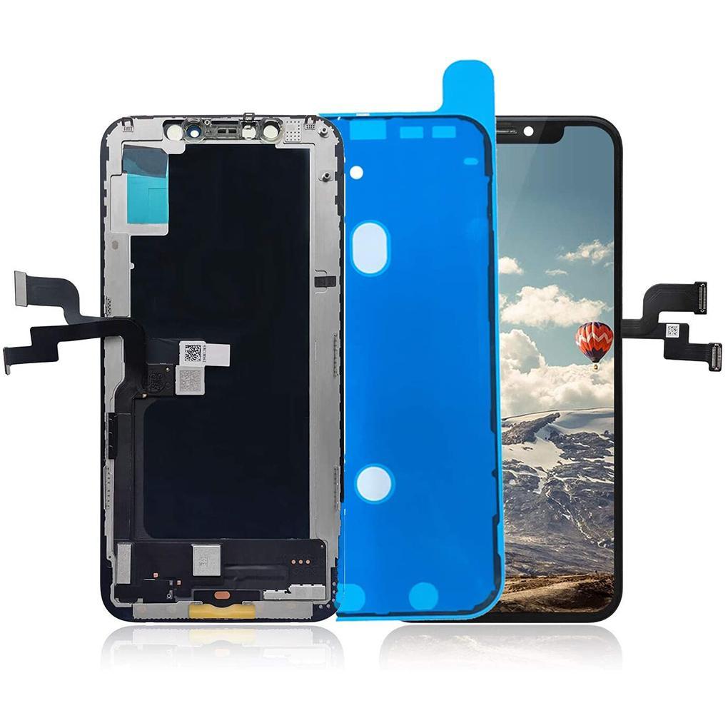 Per iPhone XS TFT Display LCD LCD di alta qualità Pannelli touch Scherm Digitizer Assembly Parti di riparazione di assembly con pacchetto schiuma