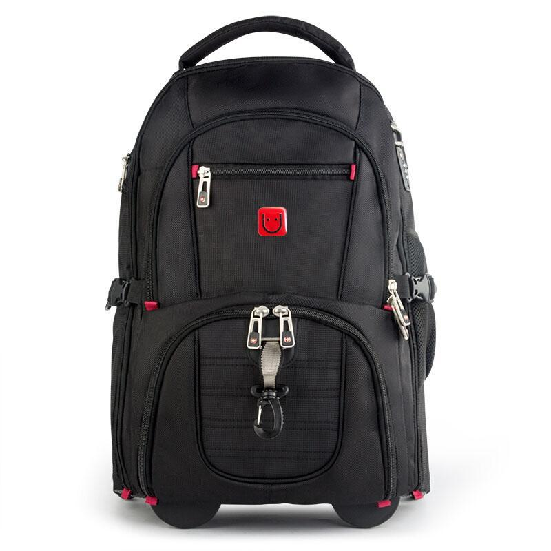 Backpack Multifunction Men Trolley Rolling Bagpack Anti-thief Luggage Business Travel Laptop Wheeled School Bag