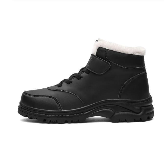 Stiefel schnee winter kurze plüsch dicke warme rutschfeste weiche sohle wanderschuhe ältere leichte frauen