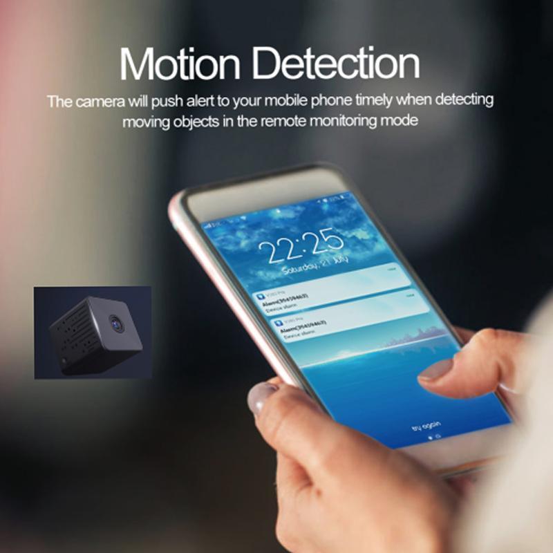 كاميرات لاسلكية مصغرة كاميرا wifi 960 وعاء hd ir للرؤية الليلية الأمن المنزلية IP CCTV كشف الحركة الطفل مراقب كام