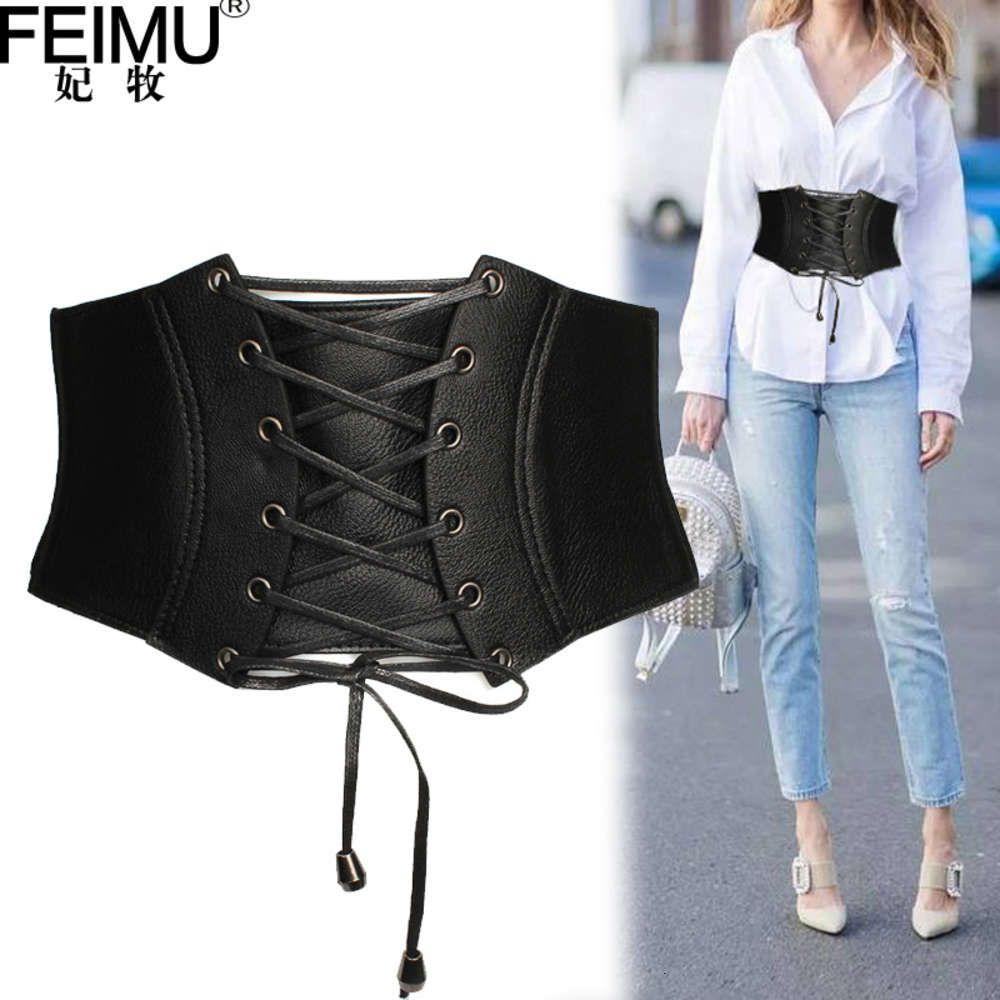 Beltulra широкая кожаный пояс для женщин модный универсальный повязку, украшение рубашки с юбкой и свитером