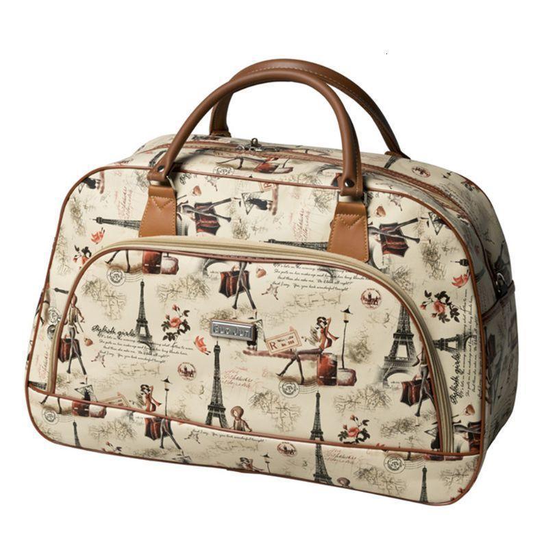 Moda Seyahat Bagaj Gecelik Çanta Kadınlar Haftası Depolama Seyahat Duffel Çanta 210329