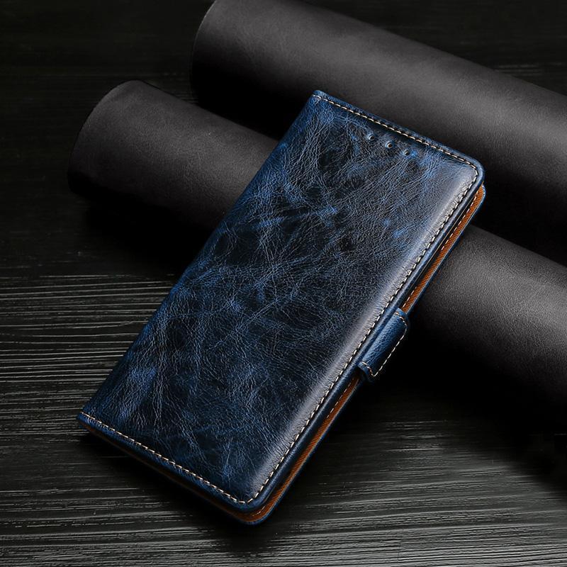 Couverture de livres classique pour Huawei Honor 10x Lite 9x 9S 9i 9A 9 8S 8 8C 8A Portefeuille en cuir rétro Portefeuille magnétique Cas de téléphone cellulaire