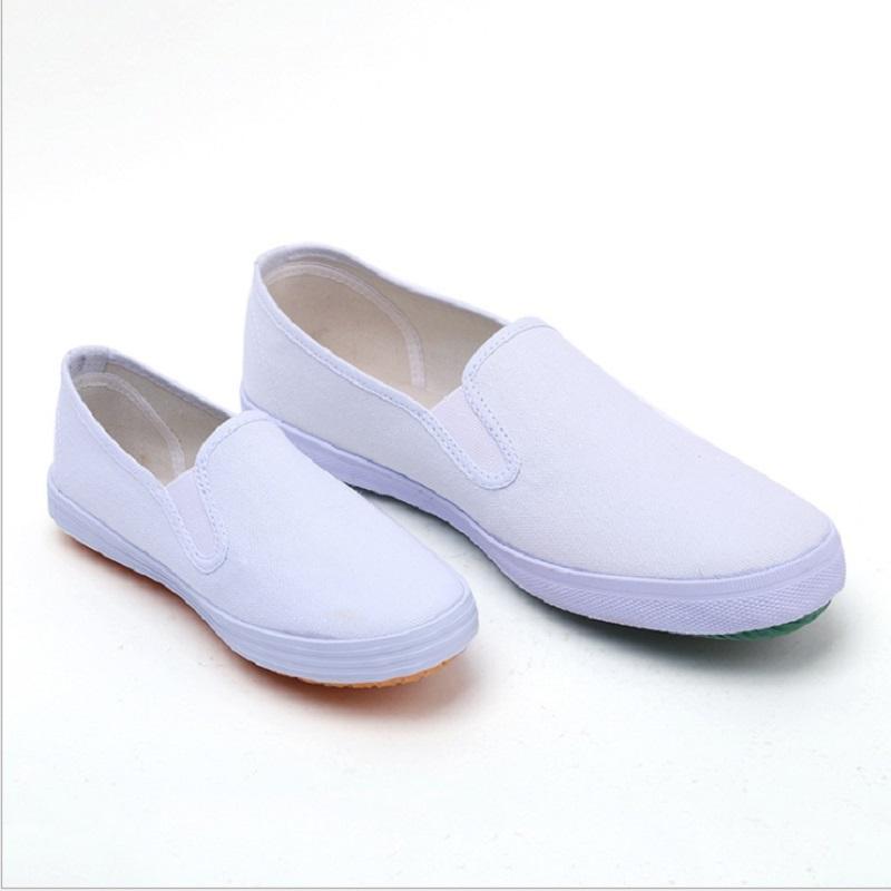 남자 러닝 신발 화이트 라이브 류 통기성 편안한 망 트레이너 캔버스 신발 스포츠 스니커즈 주자 크기 40-45 02