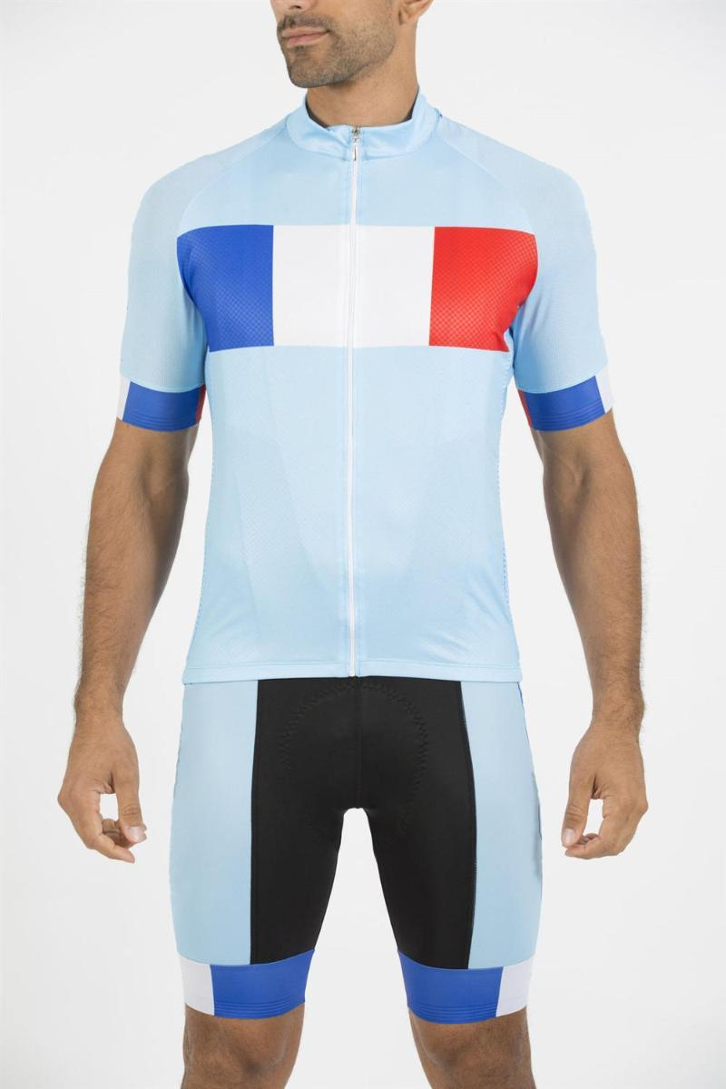 Racing Sets France Team Cycling Jersey Skinsuit Jumpsuit MTB Bike Men Running Road Clothing Ropa Ciclismo Maillot Clothes Suit