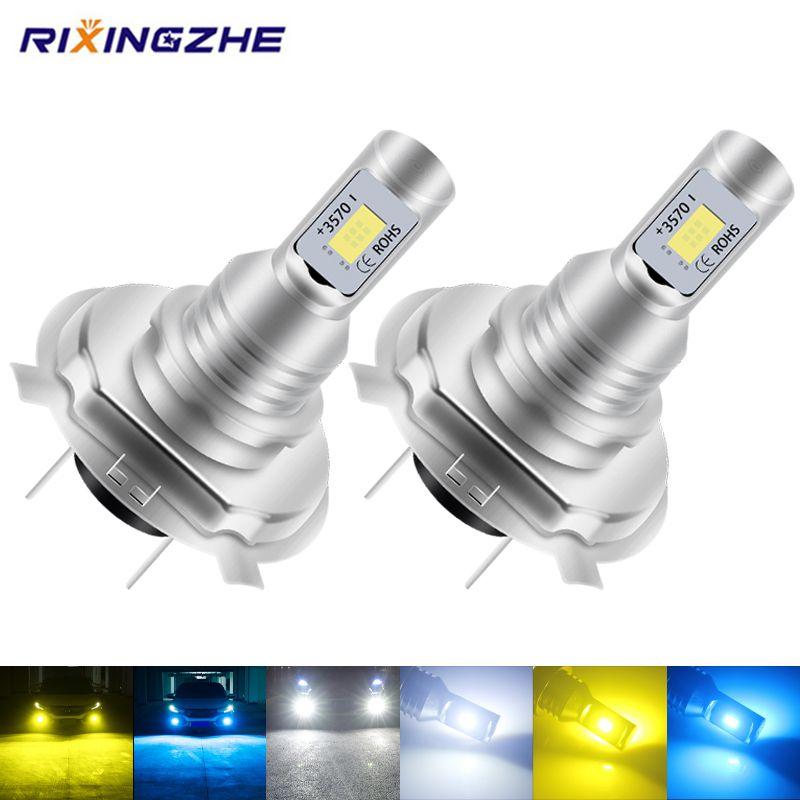 자동차 헤드 라이트 미니 사이즈 H4 H7 LED H1 H11 H3 H8 H9 HB4 9005 9006 LED 전구 자동차 안개 조명 램프 80W 6000K 12000LM 12V