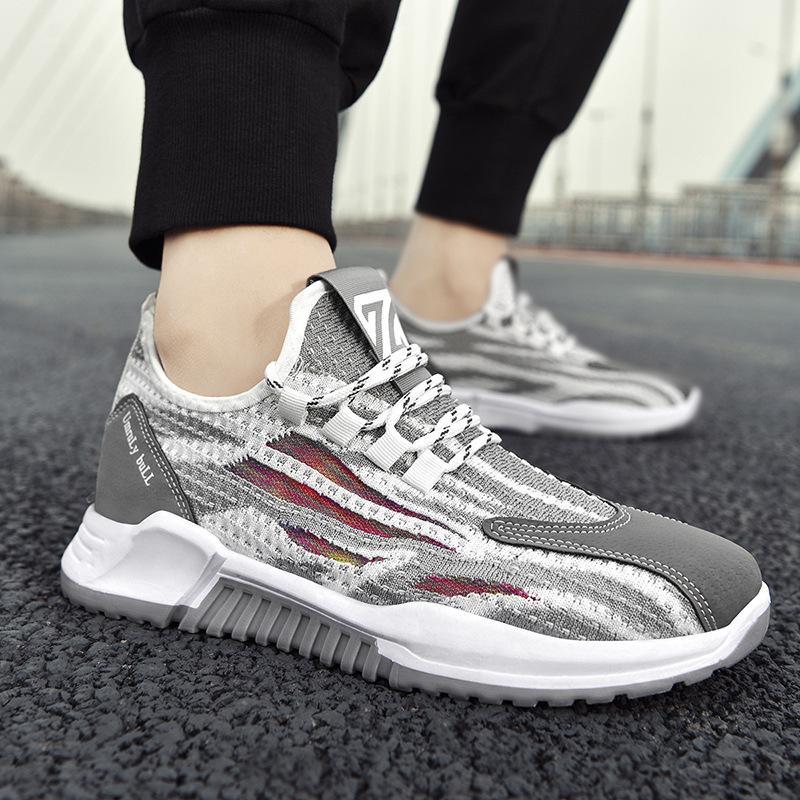 Zapatos de jogging de deportes de ocio para hombre en primavera