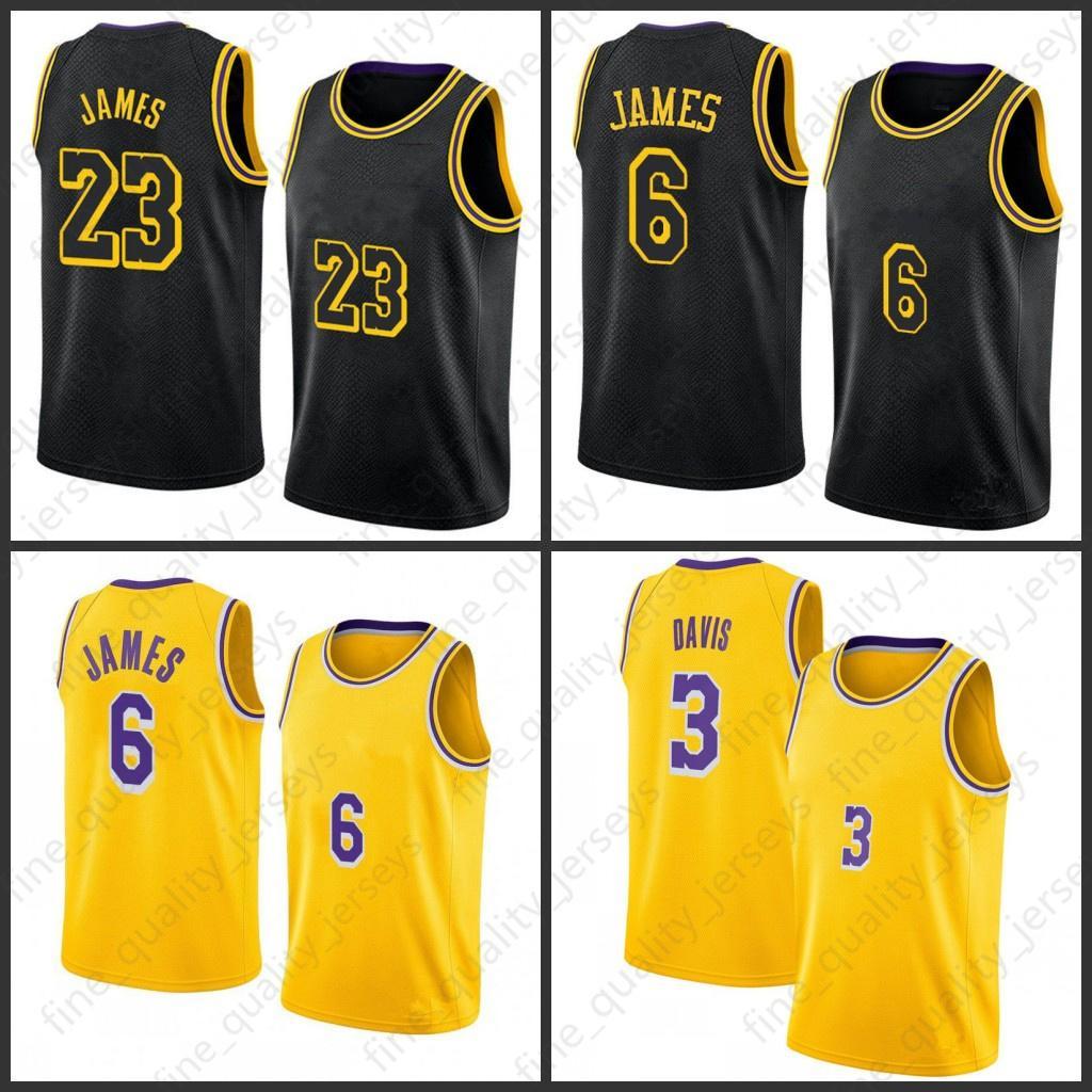 Lebron 23 6 James Basketbol Formaları Alex 4 Caruso Yeşil Los Mens Angeles Bryant Erkekler Kids Black Mamba Anthony 3 Davis Kyle 0 KUZMA 34 8 32 STOK S-XXL MENS JERSEY